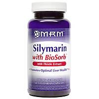 MRM, Силимарин с BioSorb, 60 растительных капсул, купить, цена, отзывы