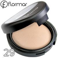 FlorMar - Пудра компактная запеченная для лица TerraCotta Powder Тон 29 porcelain ivory матовая