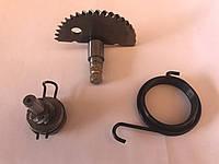 Полумесяц заводной в сборе GY6-80, с пружиной, JWBP