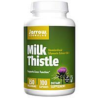Jarrow Formulas, Расторопша пятнистая, 150 мг, 100 вегетарианских капсул, купить, цена, отзывы