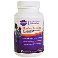 Fairhaven Health, Мультивитамины для кормящих женщин Nursing Postnatal, 60 капсул, купить, цена, отзывы