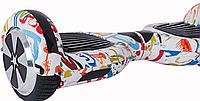"""Гироскутер Smart Balance Wheel Simple 6,5"""" Graffiti + Сумка +Спиннер в Подарок! (Гарантия 12 Месяцев)"""