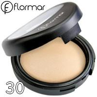 FlorMar - Пудра компактная запеченная для лица TerraCotta Powder Тон 30 mat beige матовая