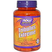 Now Foods, Препарат для спортсменов Tribulus Extreme, 90 растительных капсул, купить, цена, отзывы