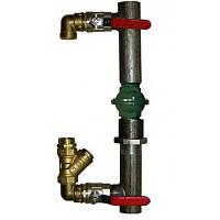 Байпас для систем отопления DN 40 клапан/короткий