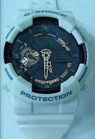 Часы CASIO G-Shock 110 качество ААА белые с черным
