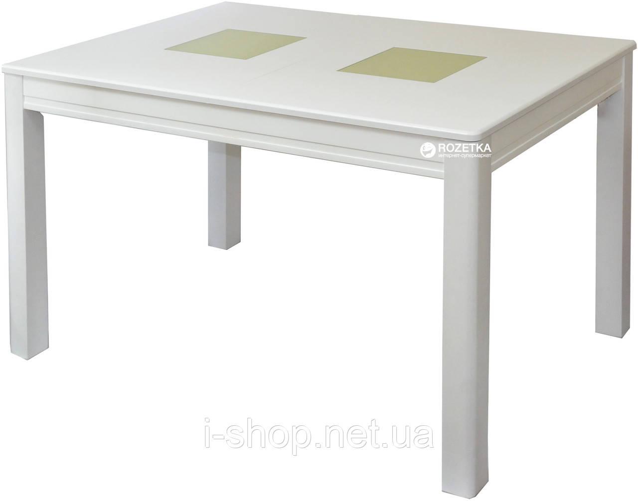 Стол обеденный раскладной Берлин С (белый, беж)