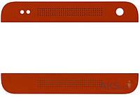 Aksline Верхняя + нижняя панель (накладка динамика) HTC One mini 601n Red