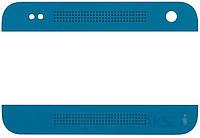Aksline Верхняя + нижняя панель (накладка динамика) HTC One mini 601n Blue