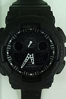 Часы CASIO G-Shock 100 качество ААА черные