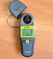 Анемометр цифровой Kecheng SR5280A ( КС-280А ) 0.4~30.0m/s ; 0°C~50°C