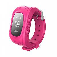 Умные часы. Smart Baby Watch Q50 Розовый С дефектом экрана
