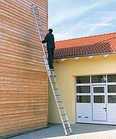 Лестница алюминиевая Раздвижная лестница-стремянка трехсекционная