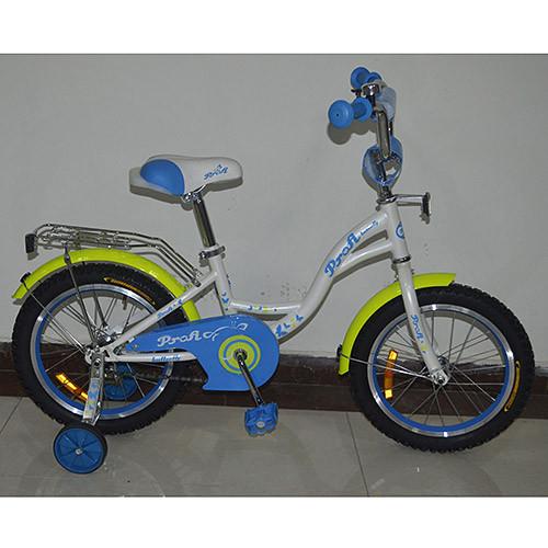 Двухколесный велосипед PROFI 14 дюймов G1424 белый