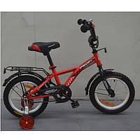 Двухколесный велосипед PROFI 14 дюймов G1431 Racer красный