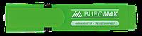 Маркер текстовый флуор. зелений Jobmax