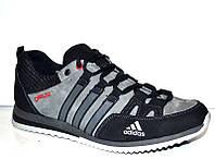 Кроссовки мужские Adidas натуральные кожа нубук AD0015