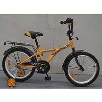 Двухколесный велосипед PROFI 14 дюймов G1434 Racer желтый