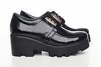 Лакированные туфли на платформе 3216-01