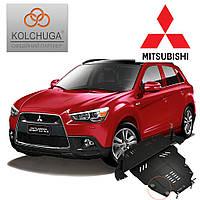 Защита двигателя Кольчуга для Mitsubishi Outlander (Premium)