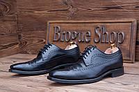 Мужские туфли броги Clint by Loake, 27.5 см, UK-8. Код: 011.