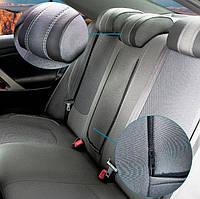 Чехлы на сидения Nissan Juke 2010+   АВТОТКАНЬ+ЭКОКОЖА