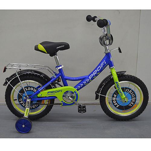 Двухколесный велосипед PROFI 14 дюймов G1441 Original boy синий
