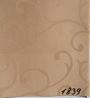 Рулонная штора Акант (430х1600). 1839. Капучино.