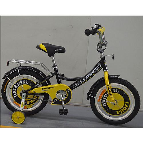 Двухколесный велосипед PROFI 14 дюймов G1443 Original boy черный