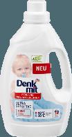 Бесфосфатный гель для стирки детского цветного белья Denkmit Fein-Und Wollwaschlotion Ultra Sensitive 1500 мл