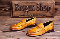 Мужские туфли лоферы Campo Neutro, 27  см, 42 размер. Код: 409.