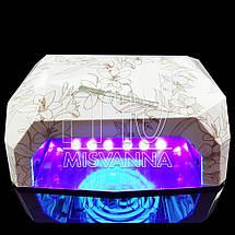 УФ лампа CCFL+LED DIMOND на 36 Вт (jasmine), фото 2