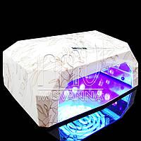 УФ лампа CCFL+LED DIMOND на 36 Вт с сенсором и таймером 10,30,60 сек. и магнитным дном (jasmine)