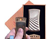 """Спиральная USB зажигалка """"Hetai"""" №4815-2, практичное приобретение, откажитесь от спичек, газа и бензина"""