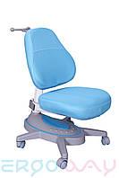 Детское компьютерное ортопедическое кресло растишка Ergoway M360 blue