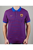 Футболка мужская NIKE FC BARCELONA 20415 фиолетовая