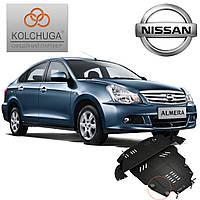 Защита двигателя Кольчуга для Nissan Almera (Premium)
