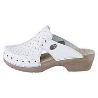 Обувь анатомическая -Сабо женские анатомические (белый/бежевый, черный, белый, коричневый/бежевый)
