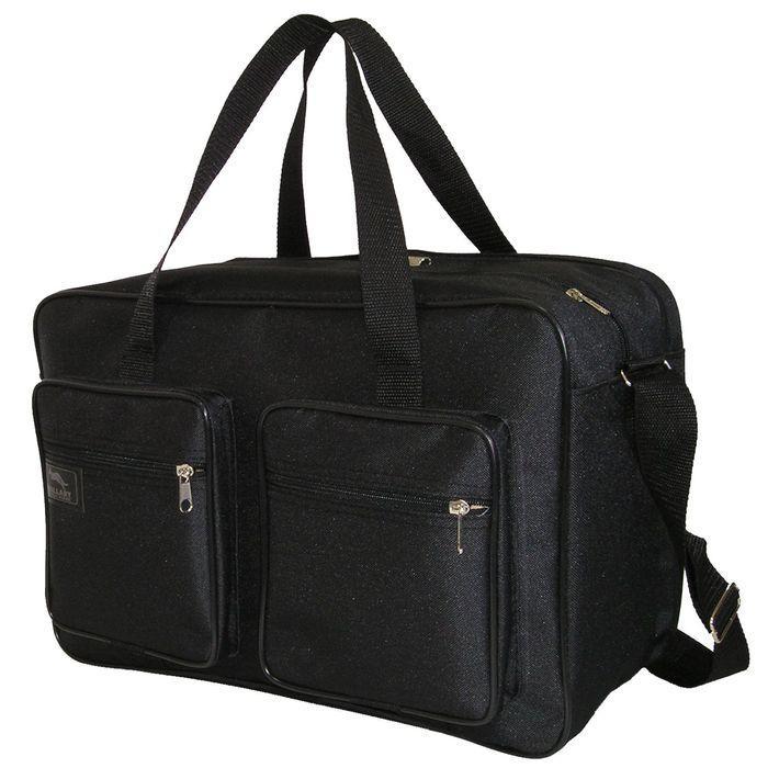 bc033eaf199e Мужская сумка Wallaby 2690 черная барсетка через плечо папка портфель А4+  42х28х19см