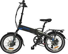Электровелосипед ROVER Fold grey-blue