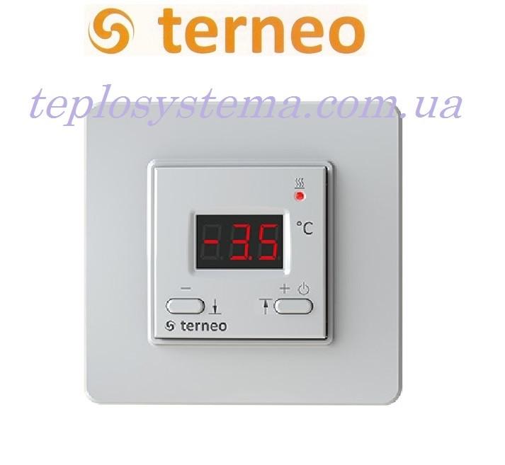 Терморегулятор для сніготанення Terneo kt (білий), Україна