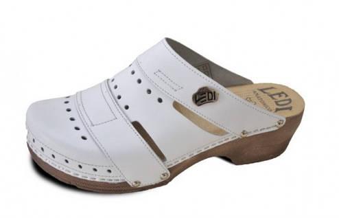 Обувь анатомическая -Сабо женские анатомические (белый, бежевый, черный), фото 2