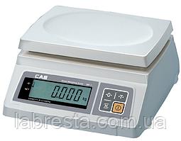 Весы настольные CAS SW-2 простого взвешивания, платформа пластик
