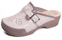 Обувь анатомическая - Сабо женские анатомические (бежевый, белый, красный)