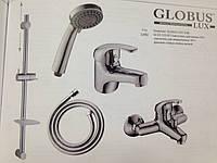 """Комплект смесителей для ванны """"GLOBUS LUX Solly"""" Китай"""