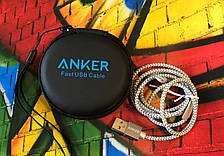 USB кабель Anker Lightning silver