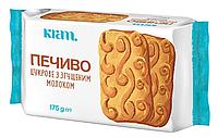 Печенье сахарное со сгущенным молоком
