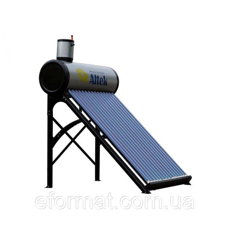 Сезонный безнапорный солнечный коллектор Altek SD-T2-20, 200 л/сутки