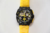 Часы хронограф Swatch SUIB401 Yellow Head.
