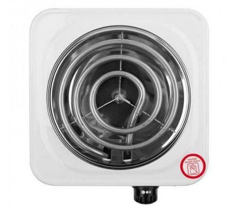 Электрическая плитка одноконфорочная Domotec 1000 Ватт (1 кВт) для кухни, дачи, дома, фото 2
